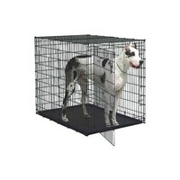 """Midwest Solution Series """"Ginormus"""" Double Door Dog Crate 