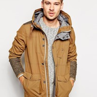 River Island Hooded Jacket at asos.com