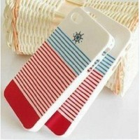 Sailor Style Trendy Cute Case Cover for iPhone 4/ 4S