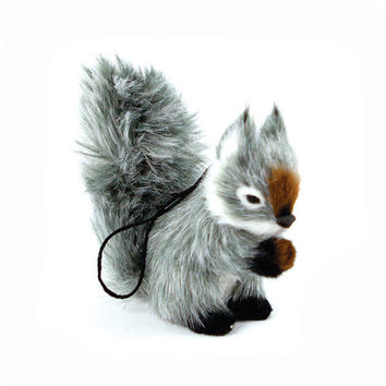 Down To The Woods | Squirrel Christmas Decoration Grey