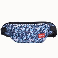 Men's and Women's Supreme Chest Pockets Oxford Casual Riding Bag  063