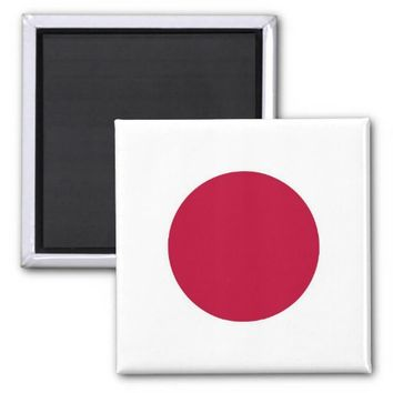 Magnet with Flag of Japan