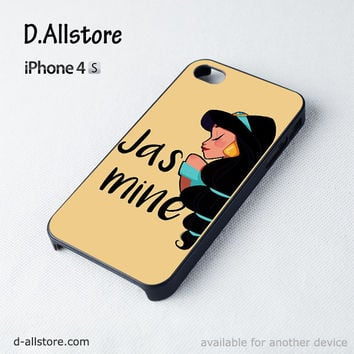 Jasmine Disney Princess for Iphone 4/4S Iphone 5/5S/5CPhone case