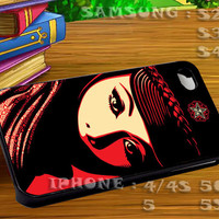 Obey Propaganda Mujer Fatal For iphone 4 iphone 5 samsung galaxy s4 / s3 / s2 Case Or Cover Phone.