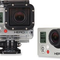 GoPro HERO3 Silver Edition Wide-Angle Helmet Cam
