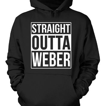 Straight Outta Weber County. Cool Gift - Hoodie