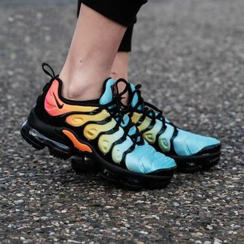 "Nike W Air Vapormax Plus ""Tropical Sunset"" Running Sneakers Sport Shoes"