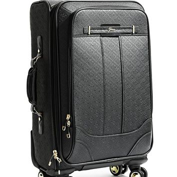 "La Vida Logo Black 21"" 8-Wheel Spinner Suitcase 