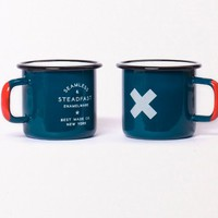Vané Broussard | Seamless & Steadfast Enamel Steel Cups  by Best Made on Luvocracy
