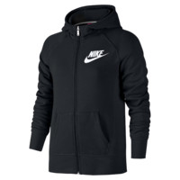 Nike YA76 Franchise Brushed-Fleece Full-Zip Girls' Hoodie