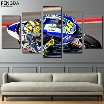Canvas Wall Art HD Printed Painting Frame Modern Motorcycle