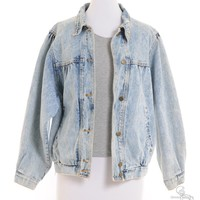 Vintage Clothing |  Denim Jacket Stone Wash With Pockets