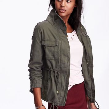 Women's Canvas Field Jacket