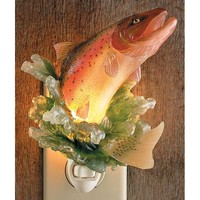 Wild Wings Trout Night Light