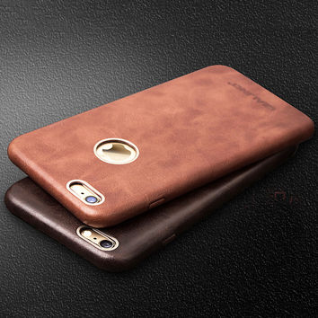 Ultra Thin Leather Iphone 6/6 Plus Case