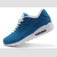 NIKE leisure sports running shoes Sapphire blue
