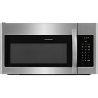 Shop Frigidaire 1.6-cu ft Over-the-Range Microwave with Sensor Cooking Controls (EasyCare Stainless Steel) (Common: 30-in; Actual: 29.875-in) at Lowes.com