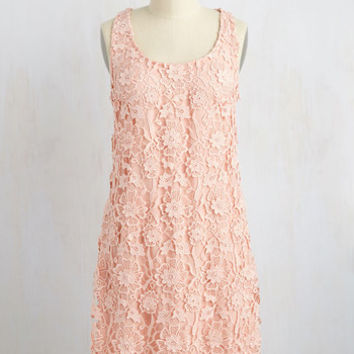 All I Ever Flaunted Dress in Blush