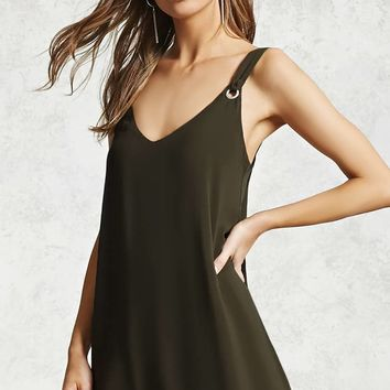 Grommet Cami Dress