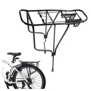 Bicycle Rear Rack Steel Carrier Seatpost Mount Durable Seat Seat Post