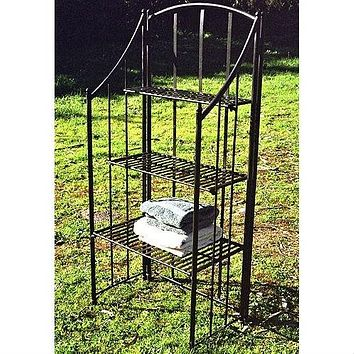 Sturdy Metal Indoor or Outdoor Planter Stand