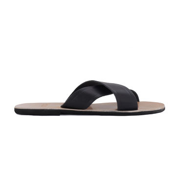 Greek Leather Sandals 'Melpomene'
