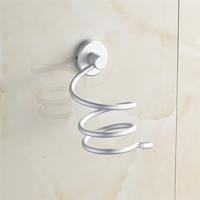 High Quality Innovative Wall-mounted Hair Dryer stainless steel bathroom Shelf Storage Hairdryer holder for hairdryer