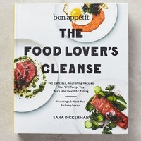 The Food Lover's Cleanse by Anthropologie in White Size: One Size Books