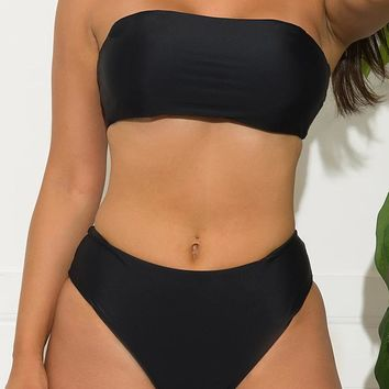 Sunrise Beach Two Piece Swimsuit Black