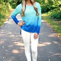 Life Aquatic Ombre Top - Restocked