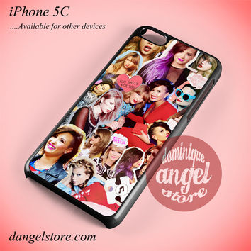 Taylor Swift & Demi Lovato Phone case for iPhone 5C and another iPhone devices