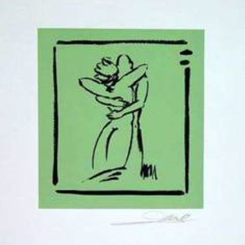 Love - Light Green - Hand Signed Open Serigraph