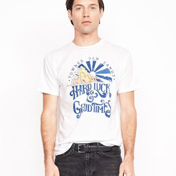 Hard Luck and Good Times Men's Crew - Bright White