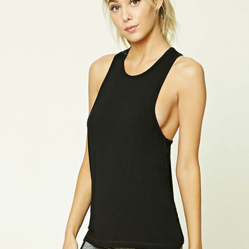 Active Mesh Racerback Top
