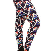 HIGH WAIST PRINTED LEGGINGS