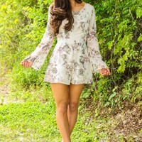 All In Good Spirit Romper-Ivory
