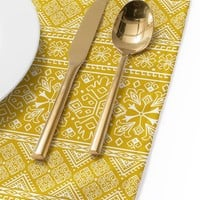 Heather Dutton Grand Bazaar Goldenrod Placemat