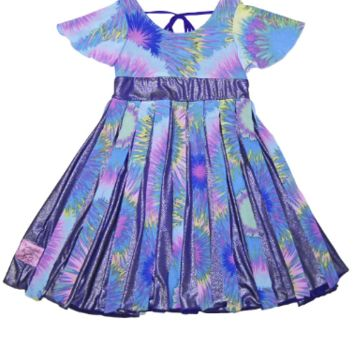 Purple Little Girl Dresses | Girls Enjoy Twirly Style | TwirlyGirl®