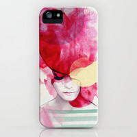 Bright Pink - Part 2  iPhone & iPod Case by Jenny Liz Rome
