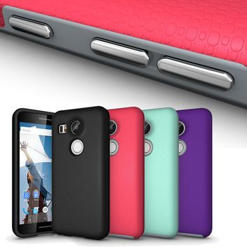 Effelon Luxury TPU + PC Hybrid Shockproof phone Coque For Case LG Nexus 5X Cover Case For Google Nexus 5X cell phone Case Cover