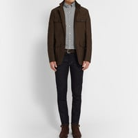 Tom Ford - Slim-Fit Washed-Cotton Shirt | MR PORTER