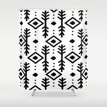 NORDIC Shower Curtain by Nika