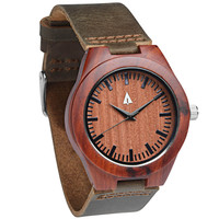 Wooden Watch // Rouge Small