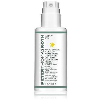 New W/O Box Peter Thomas Roth Max Sheer All Day Moisture Defense Lotion, 1.7 oz