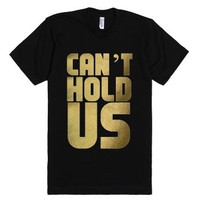 Macklemore & Ryan Lewis: Can't Hold Us-Unisex Black T-Shirt