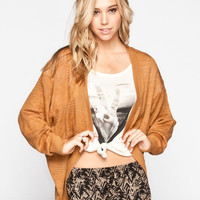 Element Colleen Womens Cardigan Camel  In Sizes