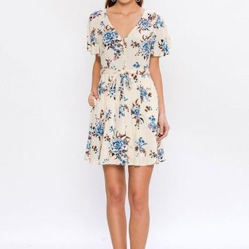 Floral Babydoll Dress