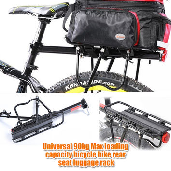 1 set Universal 90kg Max loading capacity bicycle bike rear seat luggage rack mountain bike bicycle accessories
