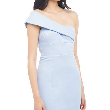 Maya One Shoulder Pencil Dress