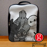 Baymax Groot Stitch Toothless Backpack for Student